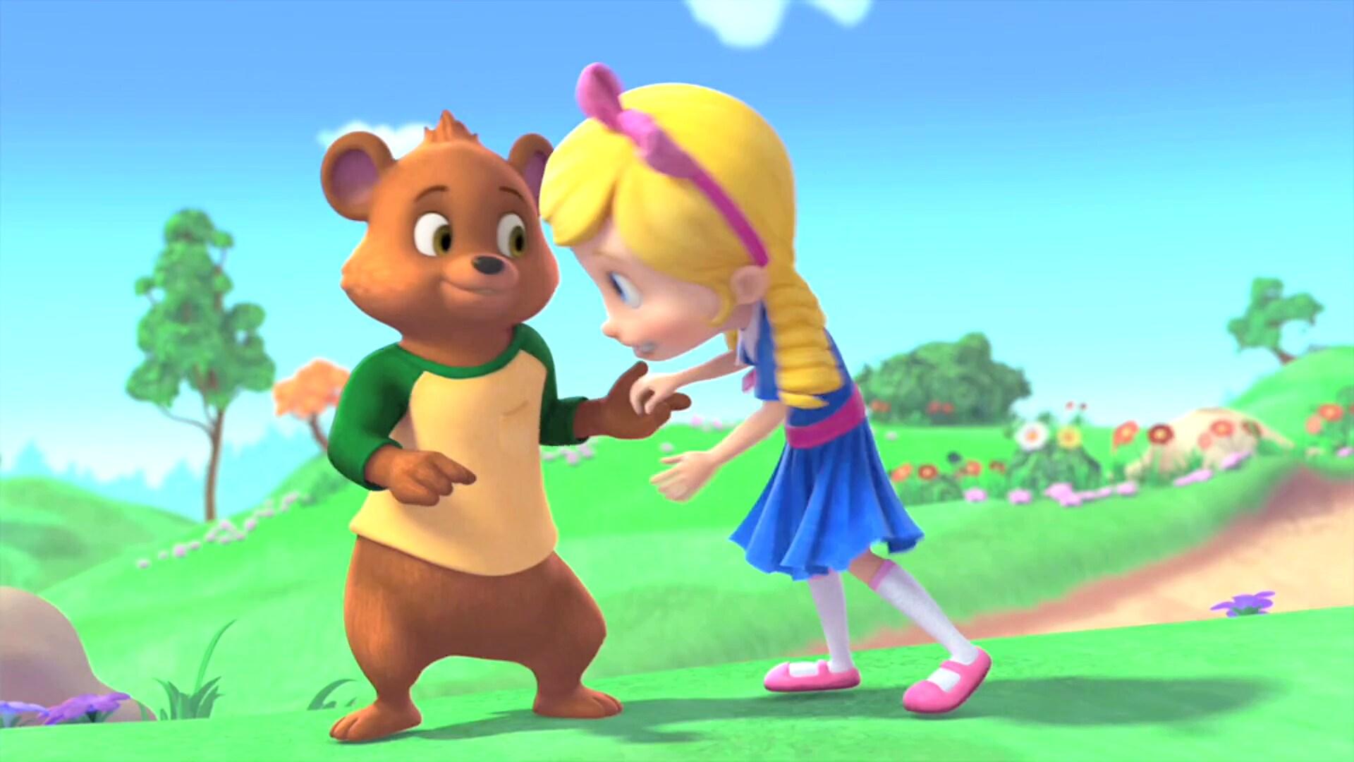 Goldie & Bear New on Disney DVD