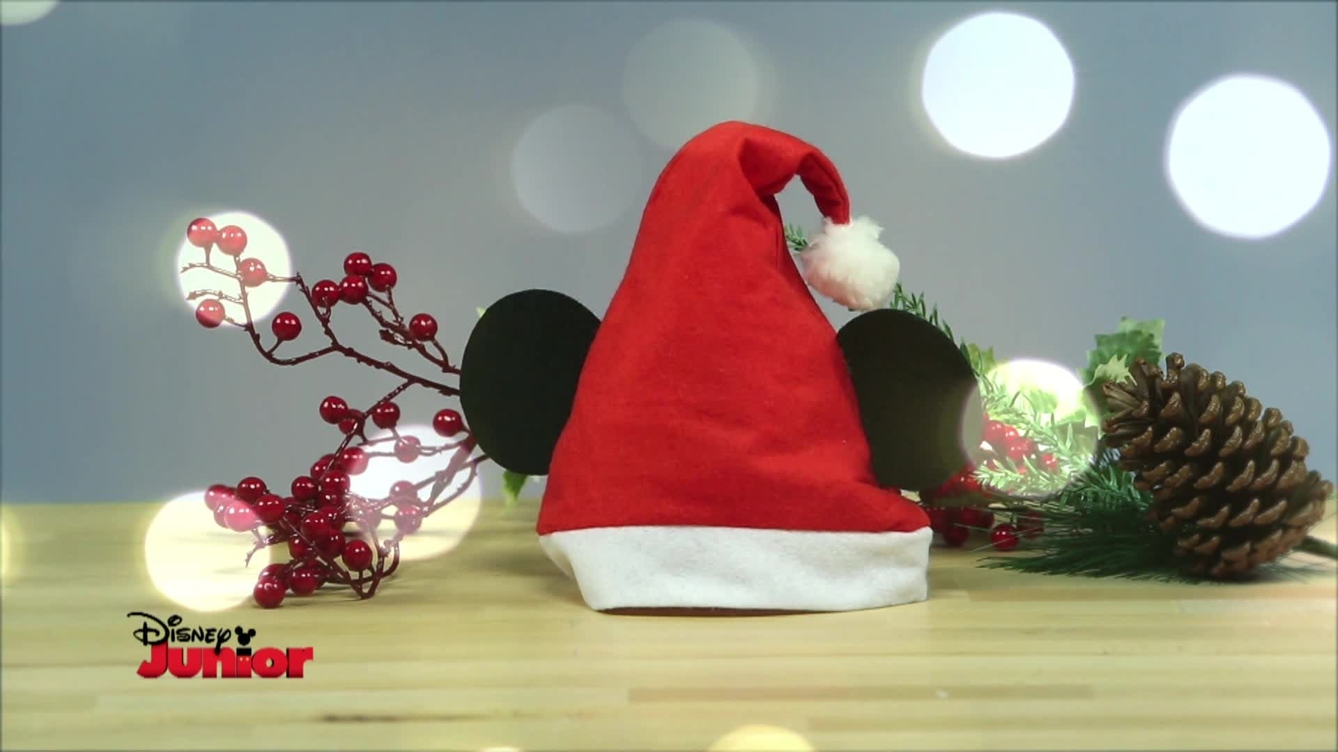 Gorro de Natal do Mickey