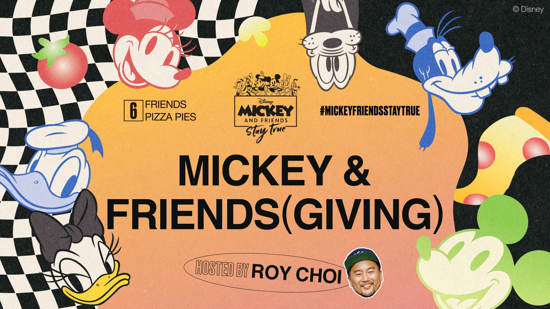 Celebrate Mickey & Friends(giving) with Roy Choi