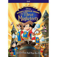 Image of Mickey, Donald, Goofy: The Three Musketeers DVD 10th Anniversary Edition # 1