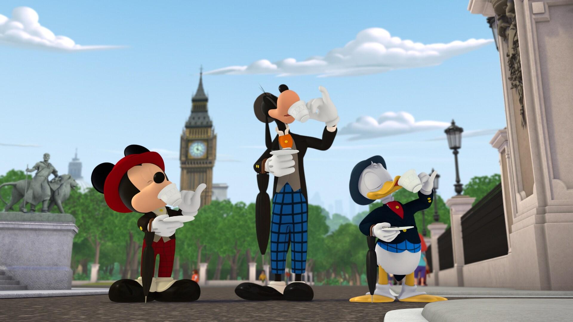Los bólidos viajan a Europa - Mickey: Aventuras sobre ruedas