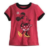 Image of Minnie Mouse Classic Ringer Tee for Girls # 1