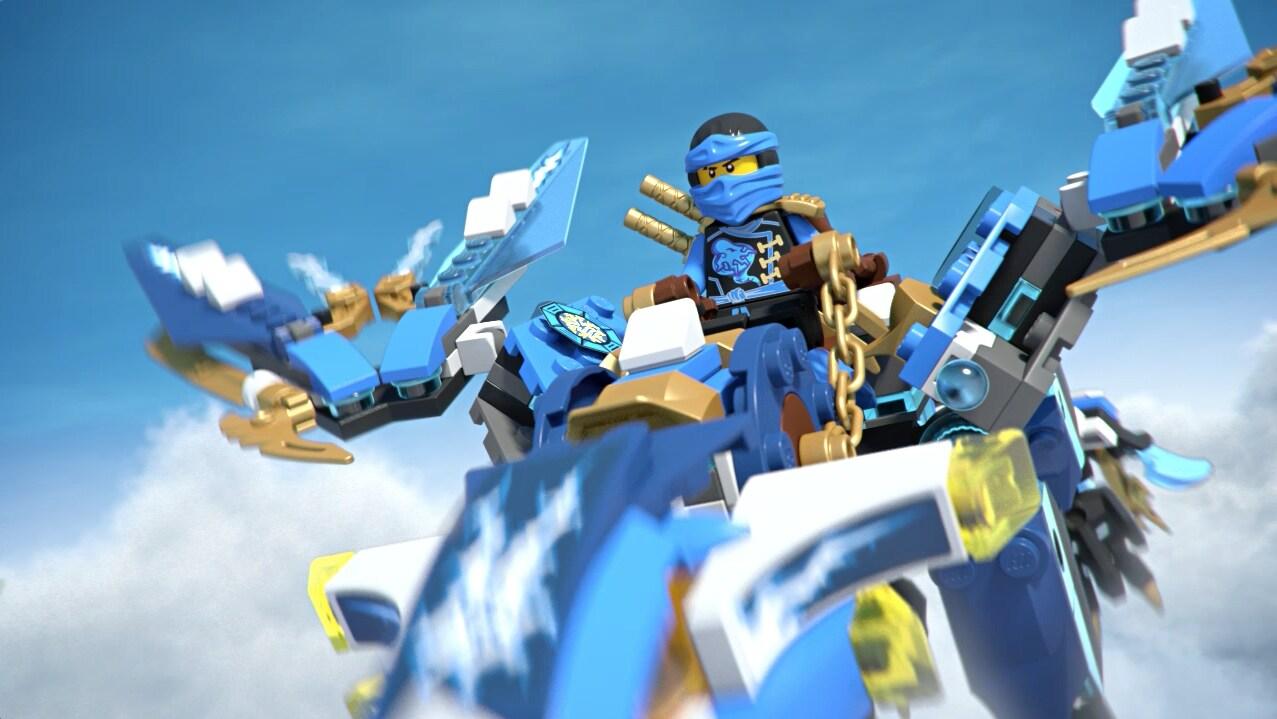 Dragão Elemental do Jay - Ninjago LEGO