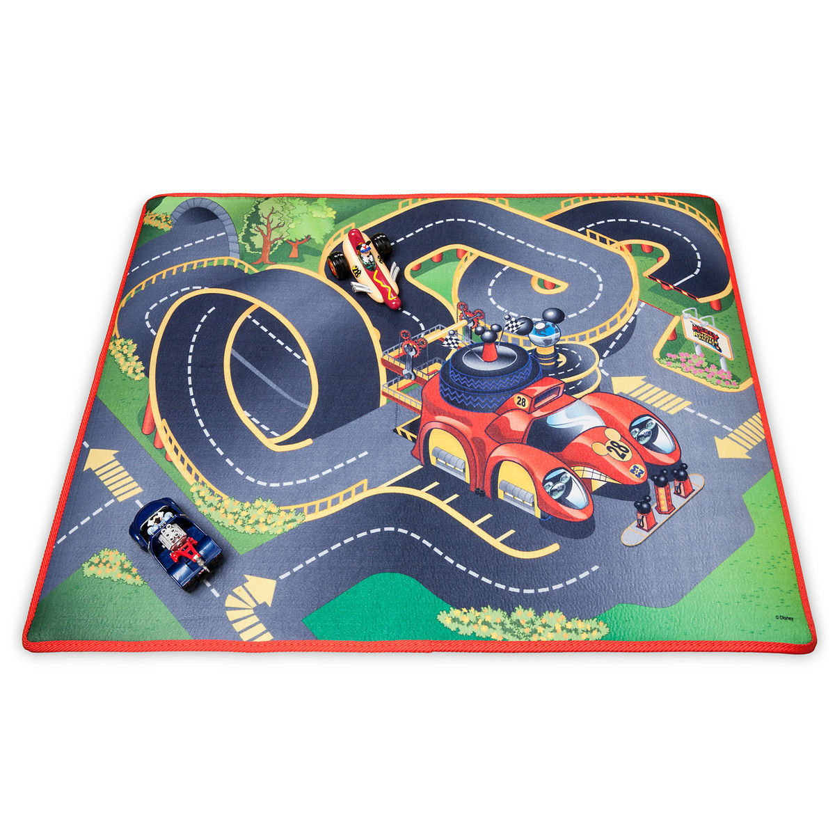 Product Image Of Mickey And The Roadster Racers Playmat Vehicles Play Set 1