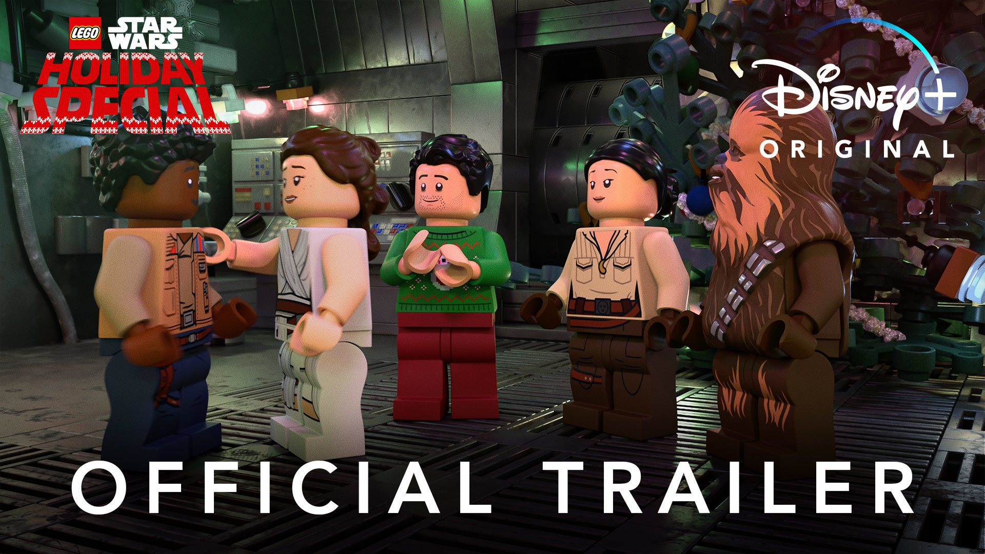 Official Trailer - LEGO Star Wars Holiday Special
