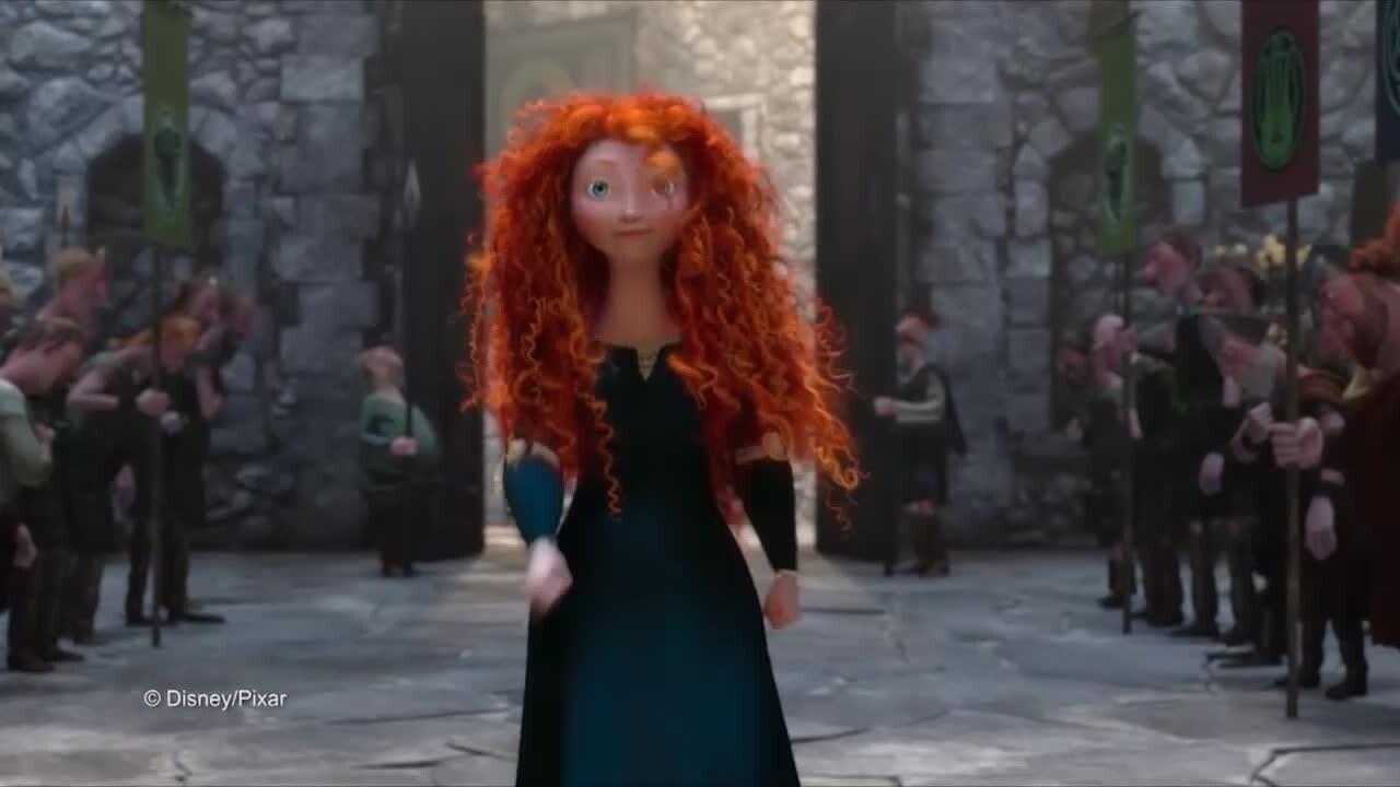 Merida - Sogna in grande Principessa
