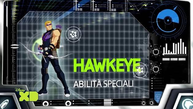 Marvel's Avengers Assemble - Occhio di falco ID