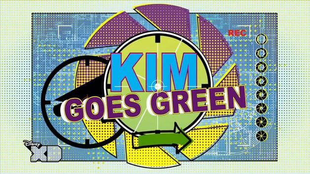 Kim Goes Green