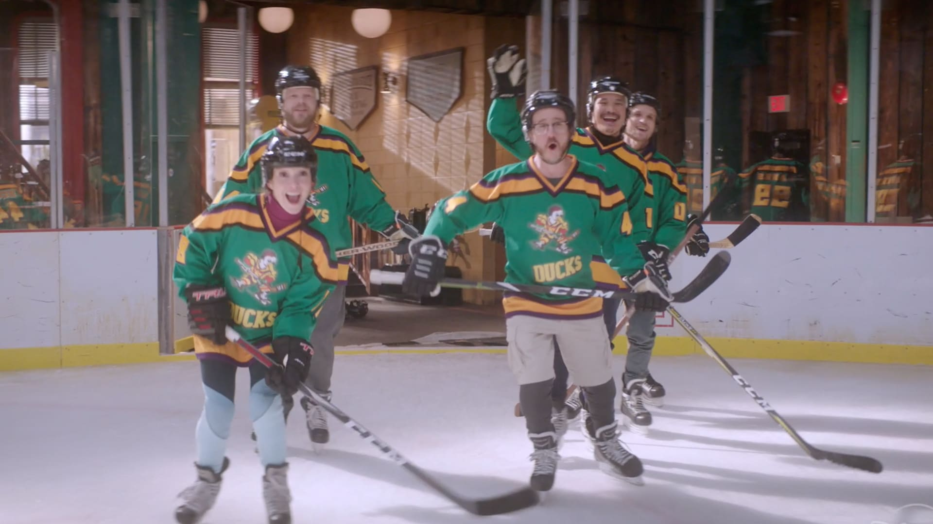 Original Cast Joins The Mighty Ducks: Game Changers (Episode 6) | Disney+