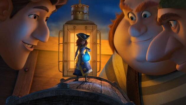 Capitán Zarina - Tinker Bell: Hadas y Piratas