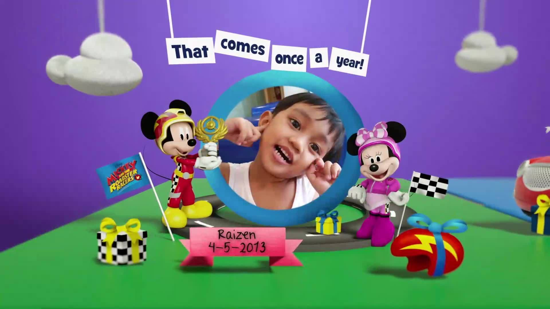 Disney Junior Birthday Book 2020 May Album 12