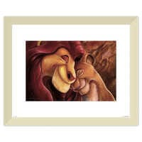 Image of The Lion King ''Pride Love Everlasting'' Giclée by Darren Wilson # 5