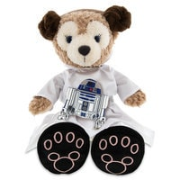 ShellieMay the Disney Bear Princess Leia Costume and R2-D2 Plush - 17''