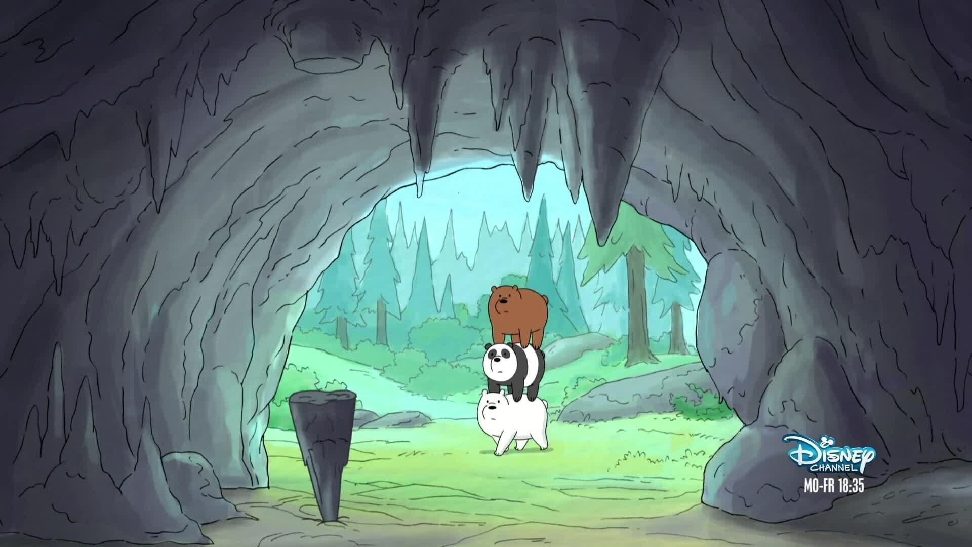 Bären wie wir Szene S1 - Wildnis