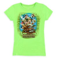 Mickey Mouse and Friends Tee for Girls - Disney's Animal Kingdom