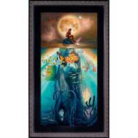 Image of Ariel ''Fathoms Below'' Giclée by John Rowe # 1