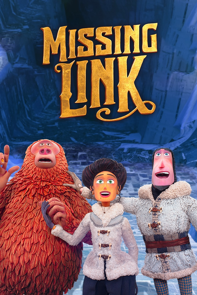 Missing Link movie poster