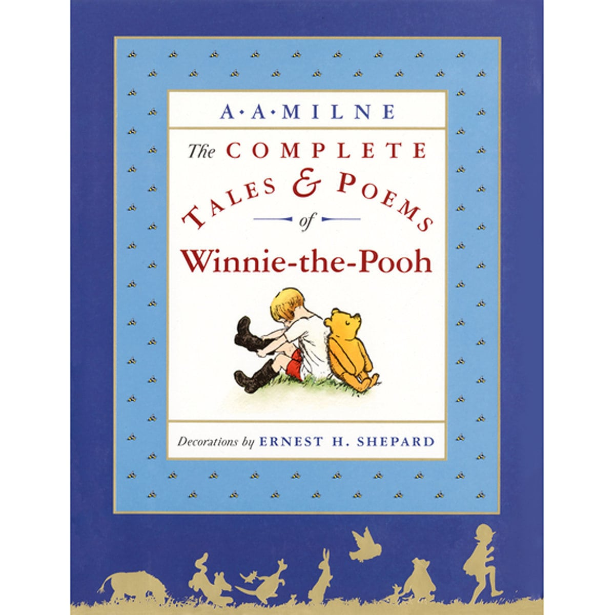 Winnie The Pooh Complete Tales Poems Book