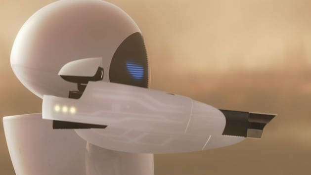 WALL-E Sees EVE