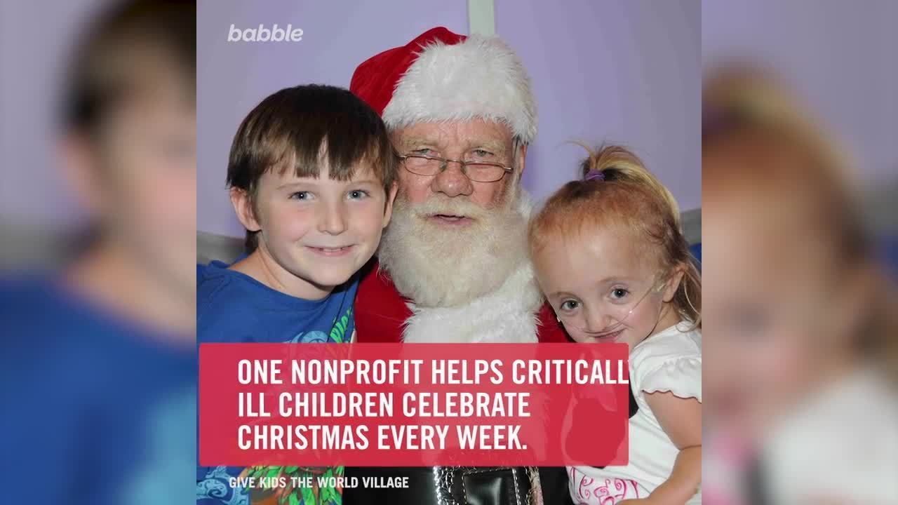 Nonprofit Hosts Christmas Every Week for Kids With Life-Threatening Illnesses