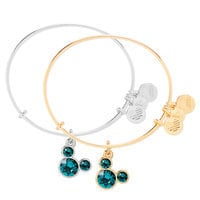 Mickey Mouse Birthstone Bangle by Alex and Ani - December