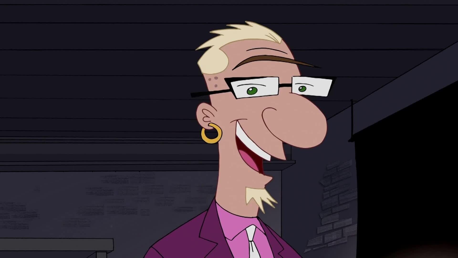 Phineas und Ferb - Tiermaskottchen/ Riesen-Dart