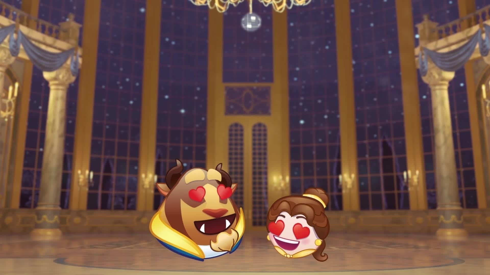 La bella e la bestia raccontata dagli Emoji