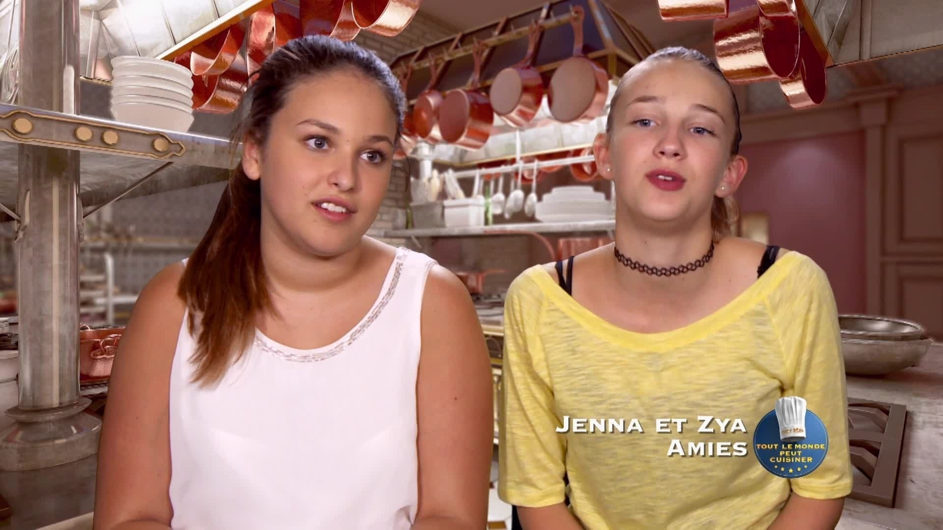 Le gâteau clap de cinéma de Zya et Jenna - Chez Rémy Tout Le Monde Peut Cuisiner - Partie 1