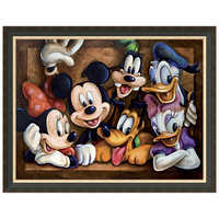Image of Mickey Mouse ''The Gang'' Giclée by Darren Wilson # 6