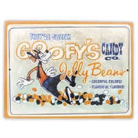 Image of Goofy's Candy Co. Jelly Beans Wall Sign # 1