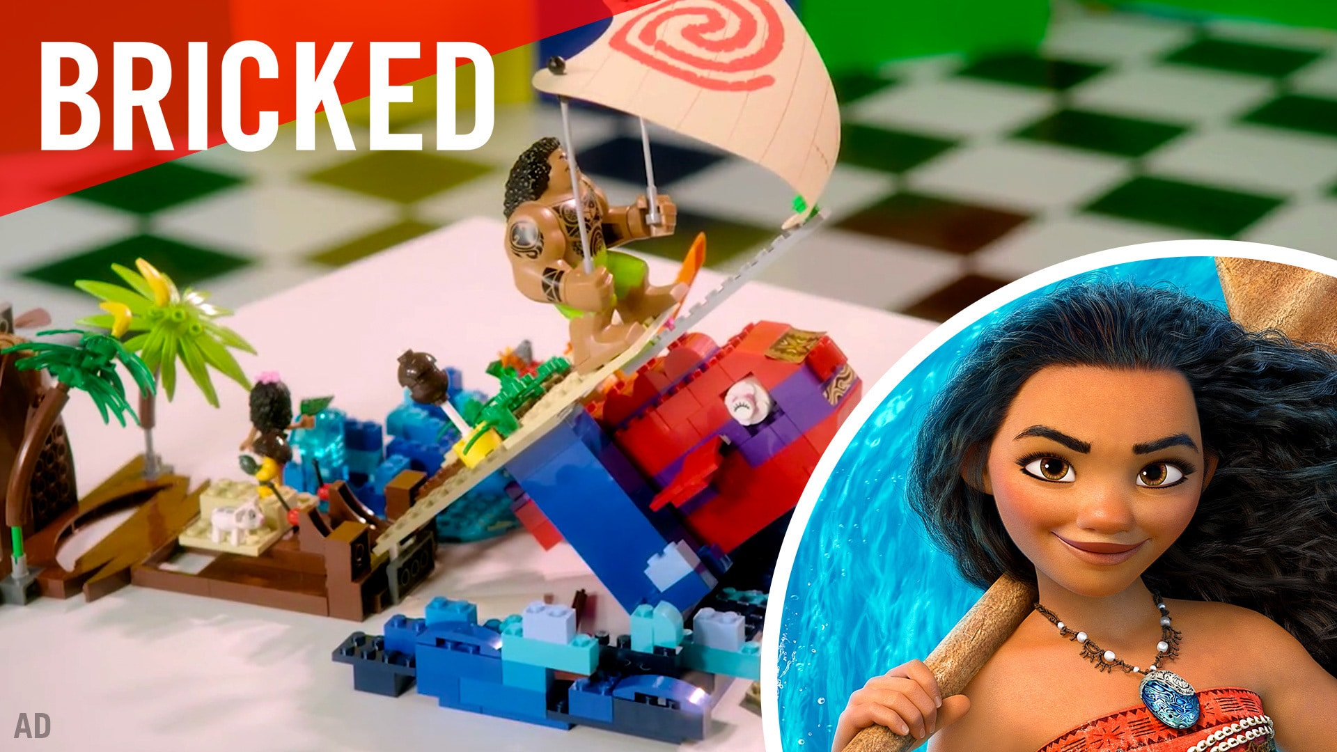 Disney Bricked | LEGO Build Challenge | Moana