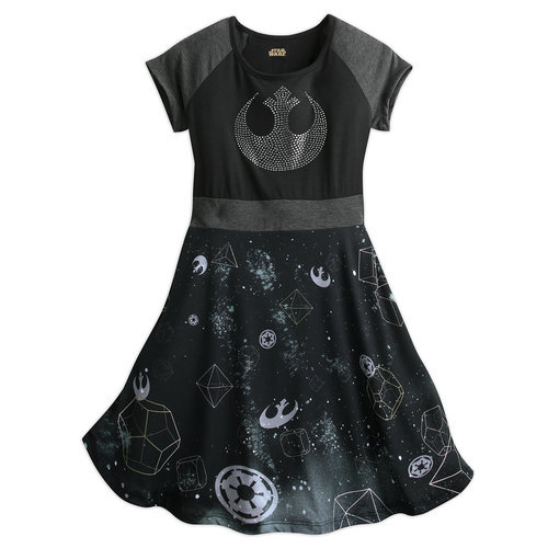 rebel alliance starbird dress for women by star wars boutique shopdisney. Black Bedroom Furniture Sets. Home Design Ideas