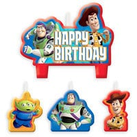 Image of Toy Story Birthday Candle Set # 1
