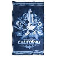 Disney California Adventure Fleece Throw
