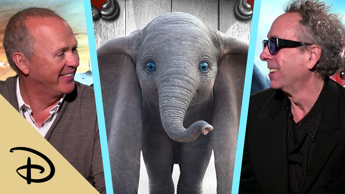 Tim Burton and Michael Keaton Talk About Making Disney's Dumbo | Disney