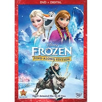 Image of Frozen Sing-Along Edition DVD # 1
