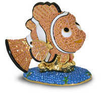 Image of Jeweled Finding Nemo Figurine by Arribas -- Nemo # 1
