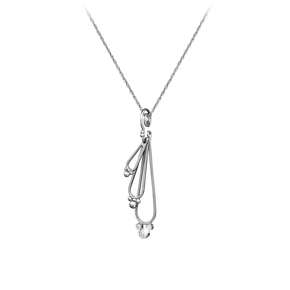 stone sea products on pendant wave necklaces diamond collections three diamonds chain a