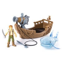 Pirates of the Caribbean: Dead Men Tell No Tales - Ghost Shark Attack Action Figure Play Set