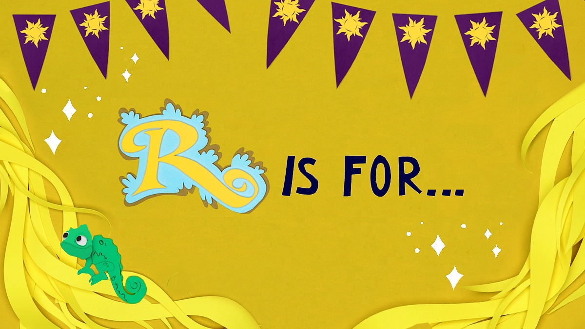 R is for Rapunzel | Disney Family