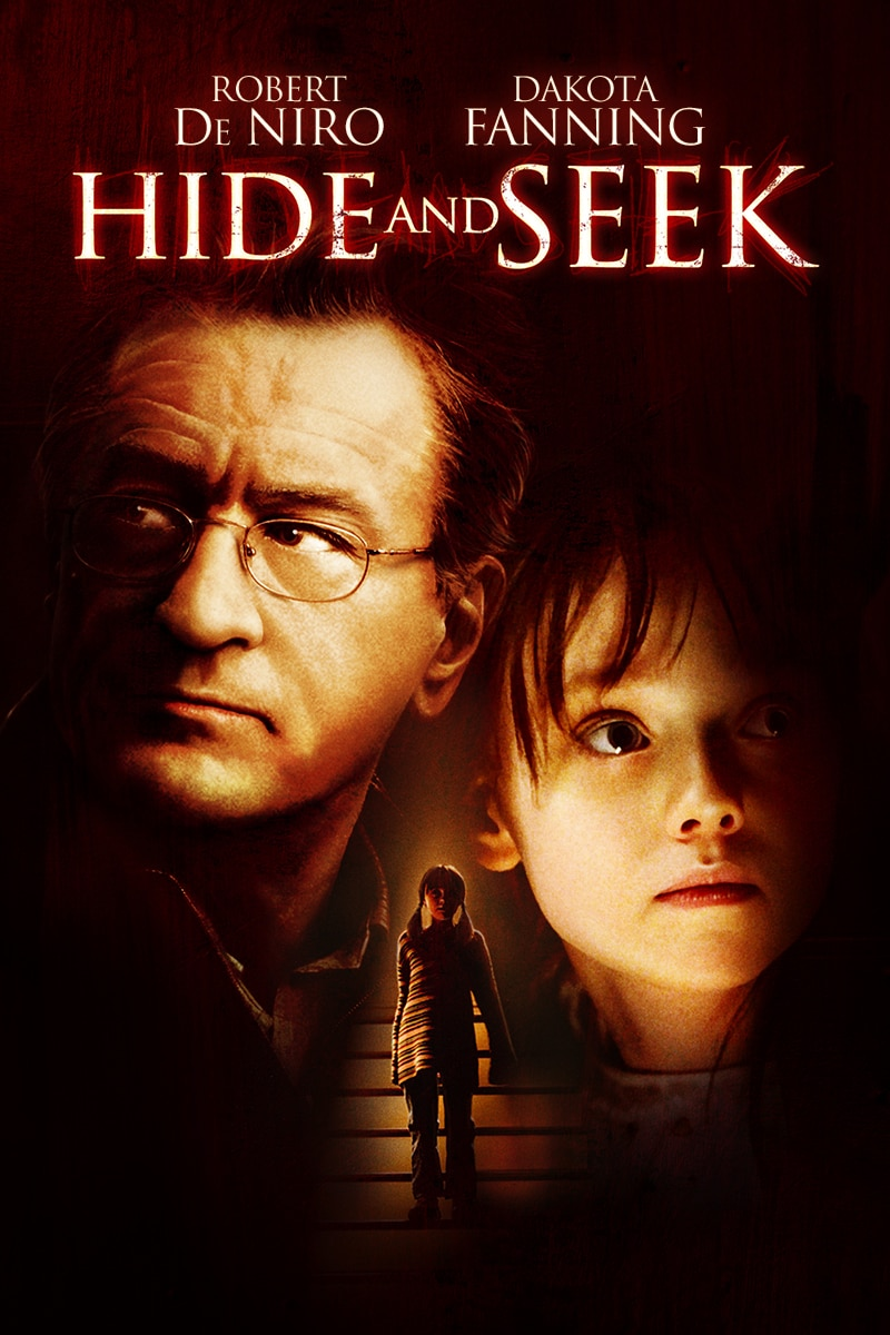 Hide and Seek Starring Robert De Niro and Dakota Fanning Movie Poster