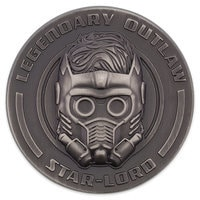 Star-Lord Sculptured Pin - Guardians of the Galaxy Vol. 2