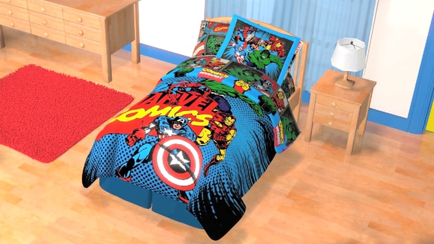 Marvel Bedroom Makeover