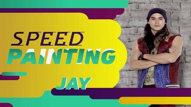 Los Descendientes 2 - Speed Painting: Jay