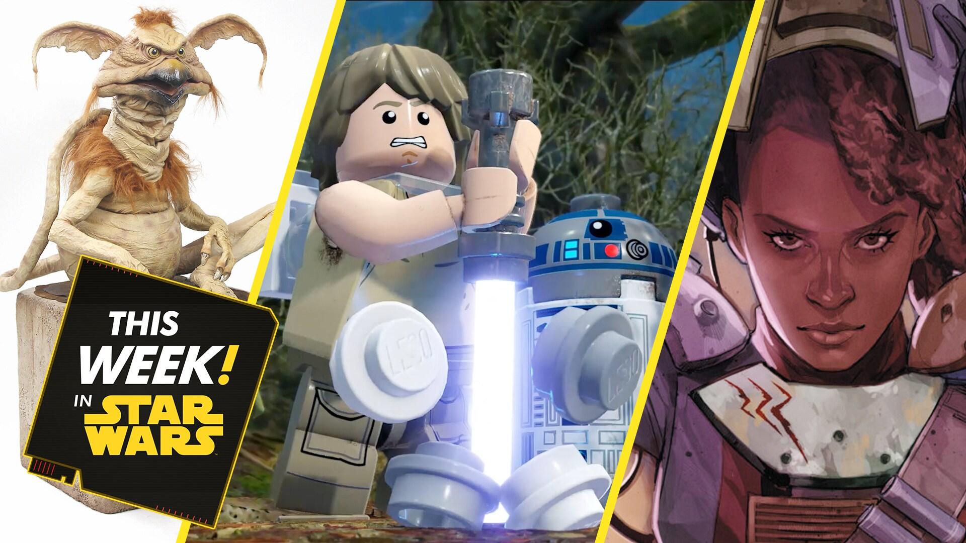 LEGO Star Wars: The Skywalker Saga Trailer, Tony McVey on Salacious B. Crumb, and More!