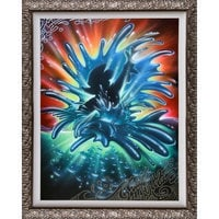 Mickey Mouse ''World of Color'' Giclée by Noah