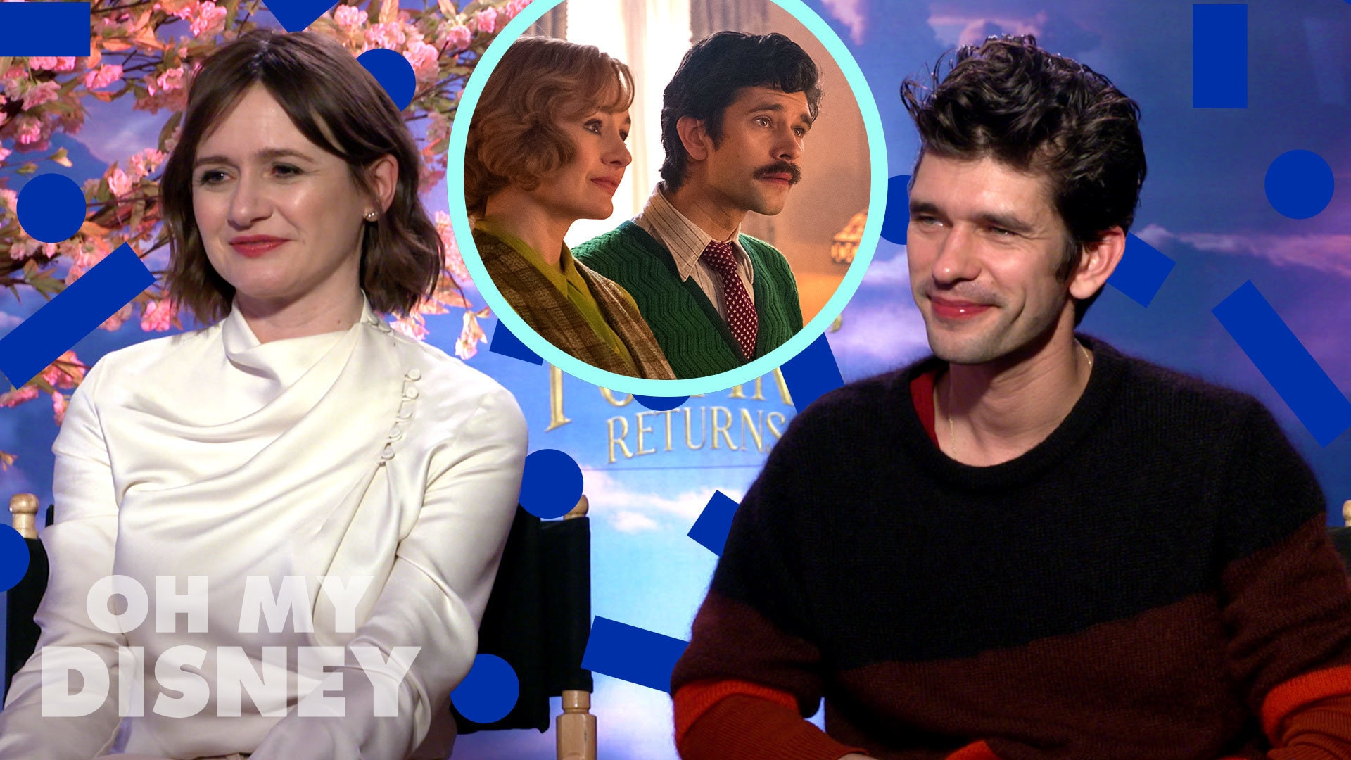 Rob Marshall, Ben Whishaw, and Emily Mortimer Talk Mary Poppins Returns | Oh My Disney