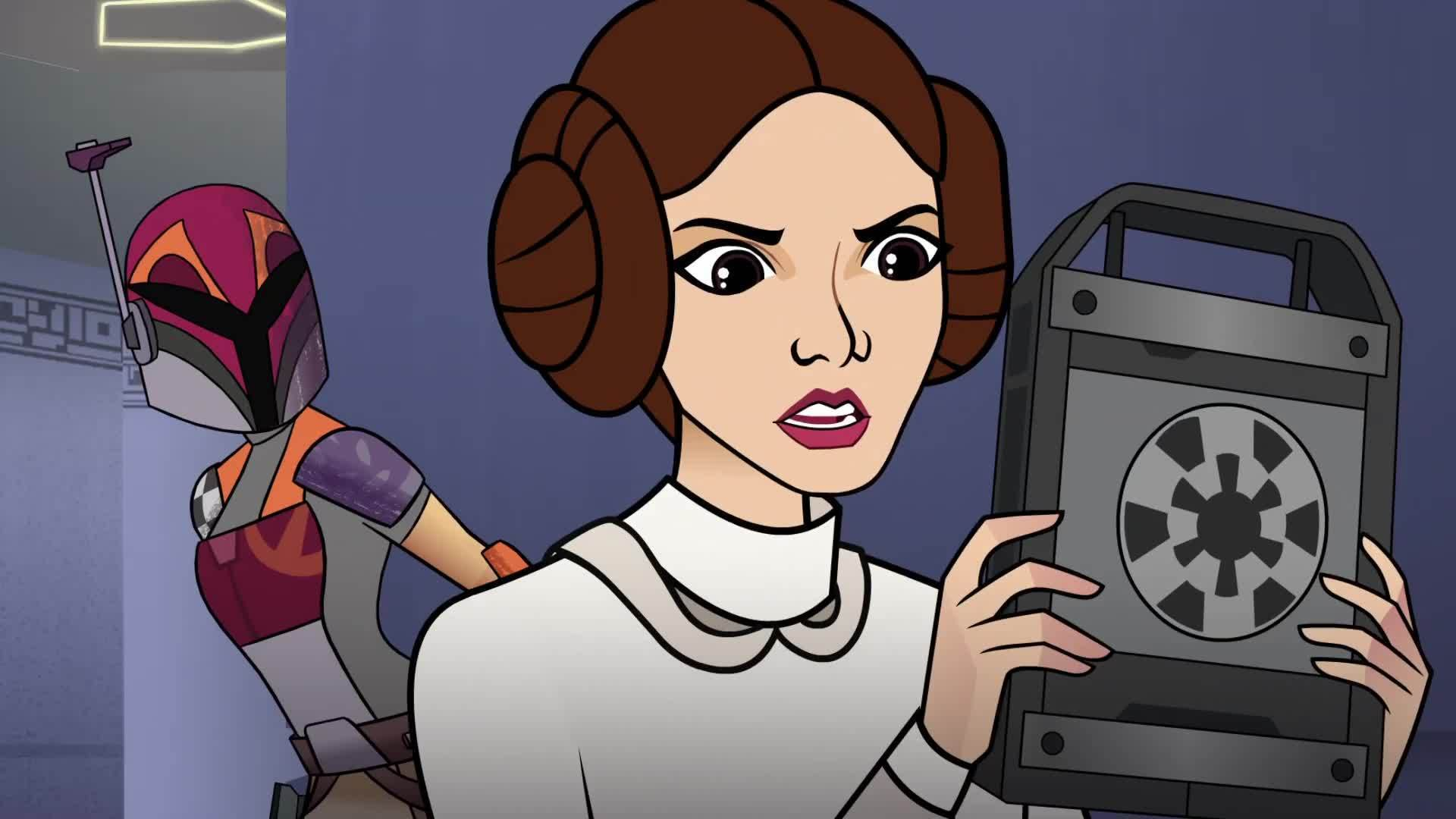 Star Wars Forces of Destiny Bounty of Trouble  | Disney
