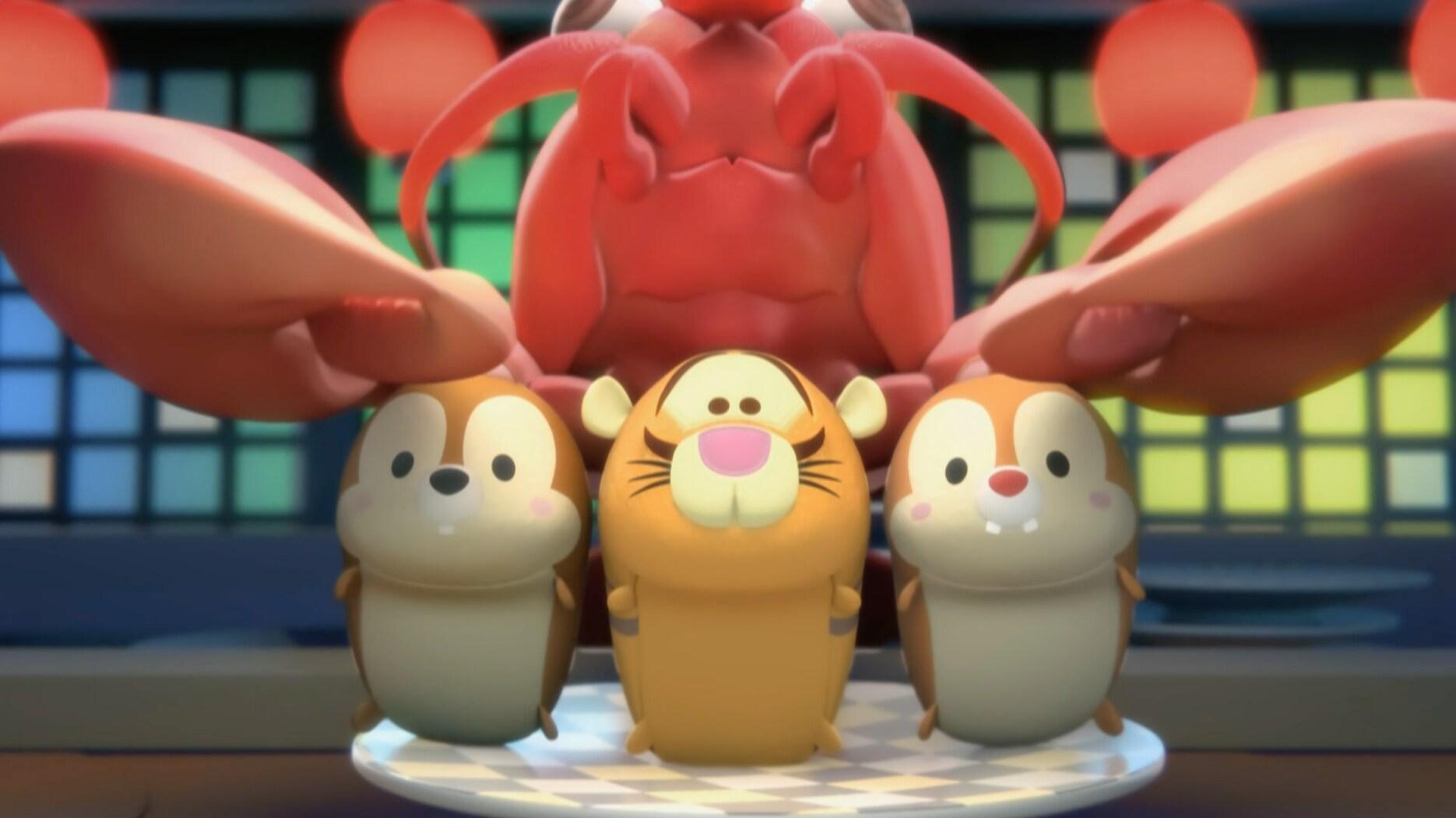 Fiesta de sushi  - Tsum Tsum