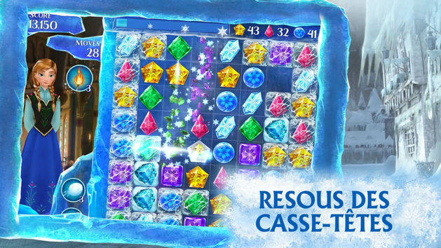 Apps - La Reine des Neiges Free Fall